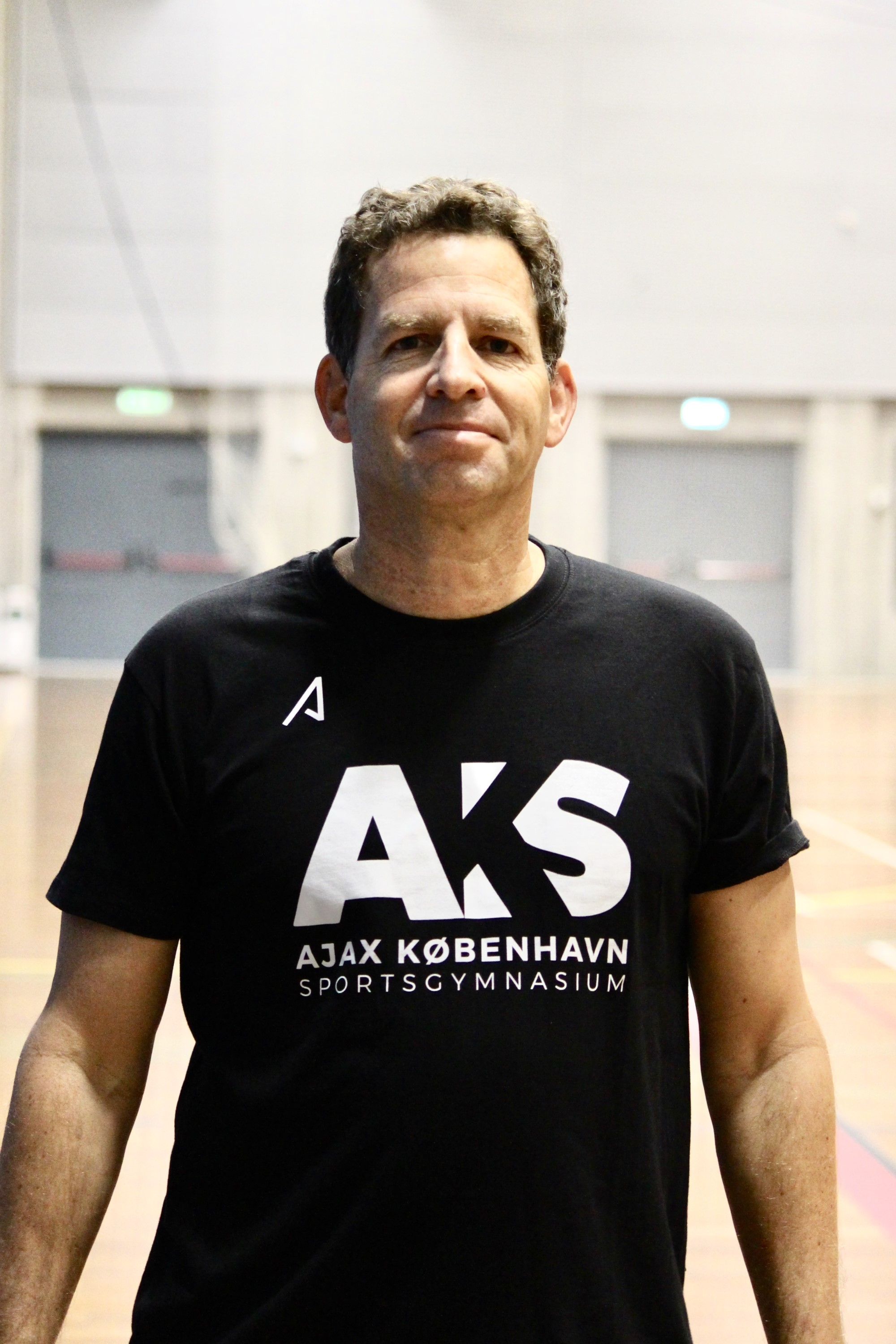 Erez Bittmann, head coach for AKS basketball